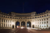 Marble arch during twilight — Stock Photo