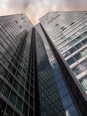 City-Haus Skyscraper in the financial district — Stock Photo