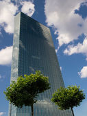 European Central Bank Headquarters — Stock Photo