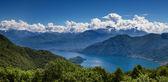 Panorama of Lake Como — Stock Photo