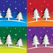 Christmas tree — Vector de stock #12901948