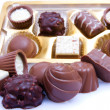 Chocolate sweetmeats - Stock Photo