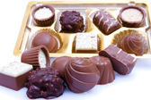 Chocolate sweetmeats — Stock Photo