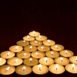 Burning candles — Stock Photo #42575679