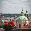 St. Nicholas Church in Prague — Stock Photo