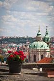 St. Nicholas Church in Prague — Stock Photo