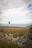 Lighthouse at Dunnet Head — Стоковое фото