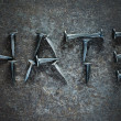 Stock Photo: Word Hate