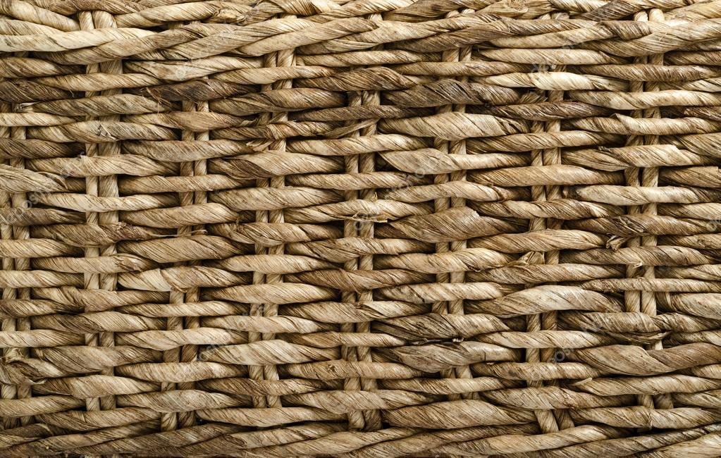Close up of a woven basket. — Stock Photo #12487849