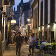 Stock Photo: Nightlife on streets of Santiago