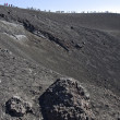Surrounding the Crater — Stock Photo