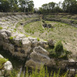 Roman Amphitheater in Syracuse — Stock Photo