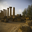 Temple of Heracles, Agrigento - Stock Photo