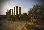 Temple of Heracles, Agrigento — Stok fotoğraf