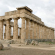 Stock Photo: Greek Temple in Selinunte