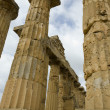 Stock Photo: Selinunte Doric Style Temple