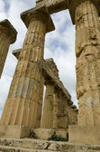 Selinunte Doric Style Temple — Stock Photo