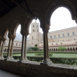 Monreale Cloister. Horizontal — Stock Photo