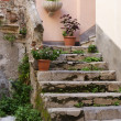 Italian Stairway - Stock Photo