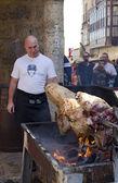 Porco no Espeto — ストック写真