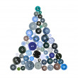 Stock Photo: Christmas Tree Buttons
