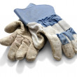 Work Gloves Blue — Stock Photo