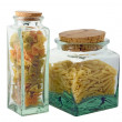 Stock Photo: Pasta, two jar