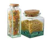 Pasta, two jar — Stock Photo