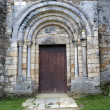 图库照片: Romanesque Door