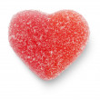 Pink Candy Heart — Stock Photo