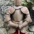 Armor Against the Wall — Stock Photo