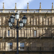 Lamppost. Salamanca — Stock Photo