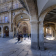 Gate Square. Salamanca - Stock Photo