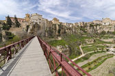 Bridge Across the Huecar Gorge to Cuenca — Stock Photo