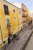 Facades of Cuenca — Stock Photo
