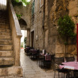 Stockfoto: Sidewalk restaurants, Split