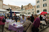 Dubrovnik, the Market — Stock Photo