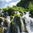 Plitvice. A Waterfall — Stock Photo