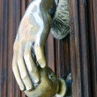 Door Knocker. Avila — Stock Photo
