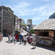 Stock Photo: Shopping in Mostar