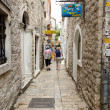 Stock Photo: Budva. Narrow Street