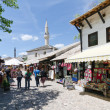 Stock Photo: Stores in Mostar