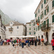Kotor. Main Square — Stock Photo