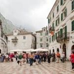 Kotor. Main Square — Stock Photo