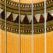Closeup of a Classical Guitar — Stock Photo