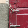 Stock Photo: Decayed Door Lock