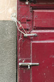 Decayed Door Lock — Stock Photo