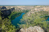 Duraton River Gorges — Stock Photo