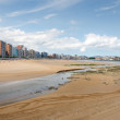 Gijon. Low Tide — Stock Photo