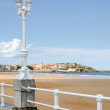 Gijon, St. Lawrence Beach — Stock Photo